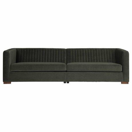 BePureHome Nouveau sofa xl samt onyx