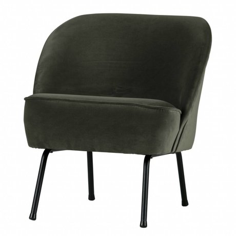 BePureHome Vogue sessel samt onyx