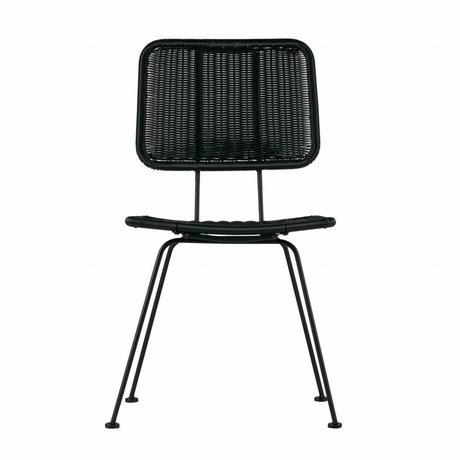 WOOOD Set of 2 - nice dining chair black