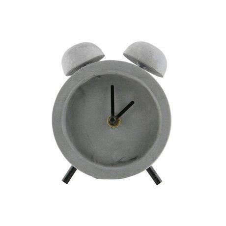 WOOOD Reloj de trabajo concreto