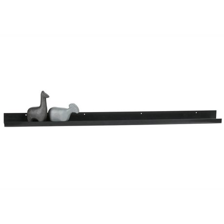 WOOOD Cadre photo Ravi en métal noir 120cm