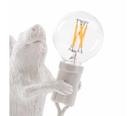 Seletti Glühbirne Ersatz-LED für Lampe Maus weißer Kunststoff