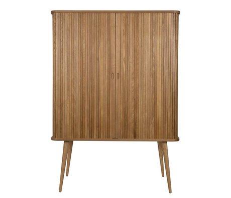 Zuiver Armoire de coiffeur bois brun naturel 100x45x140cm