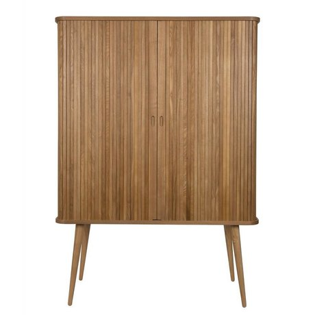 Zuiver Cupboard barber natural brown wood 100x45x140cm