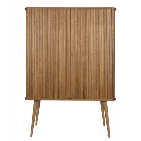 Zuiver Schrank Barbier naturbraunes Holz 100x45x140cm