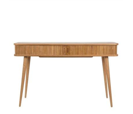 Zuiver Table d'appoint console de coiffeur brun naturel 120x35x74cm