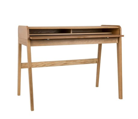Zuiver Desk barber natural brown 110x61x85cm