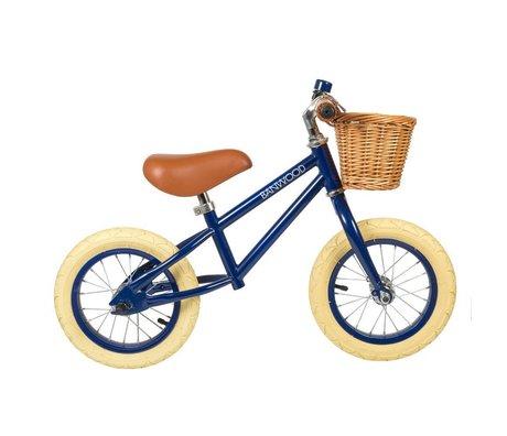 Banwood Ruota per bambini per primo andare blu navy 65x20x41cm