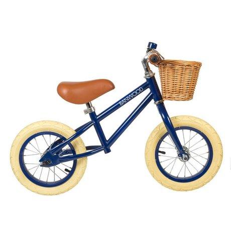 Banwood Børnehjul først gå navyblå 65x20x41cm