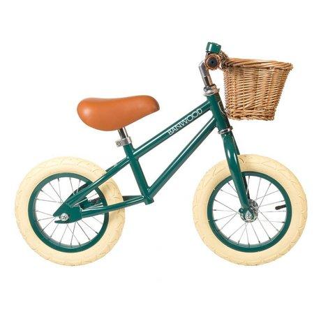 Banwood La roue des enfants commence par vert foncé 65x20x41cm