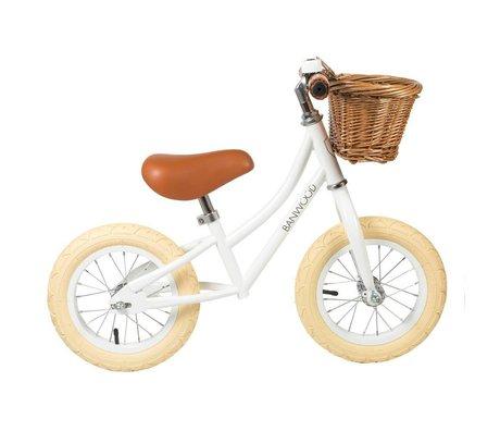 Banwood La ruota per bambini va prima bianca 65x20x41 cm