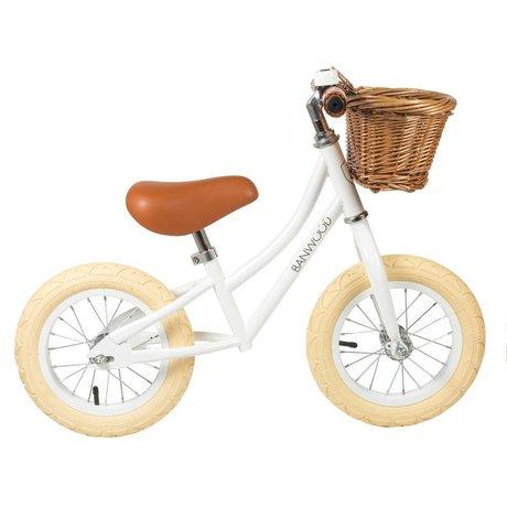 Banwood La rueda de los niños primero va blanca 65x20x41cm