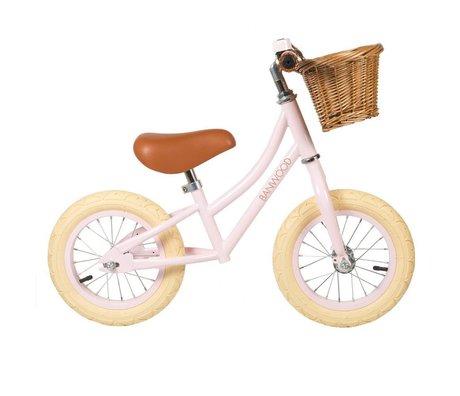 Banwood La rueda de los niños primero va rosa 65x20x41cm