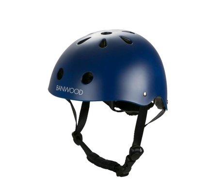Banwood Casco de bicicleta infantil azul oscuro 24x21x17,5cm