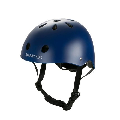 Banwood Cykelhjelm barn mørkblå 24x21x17,5cm