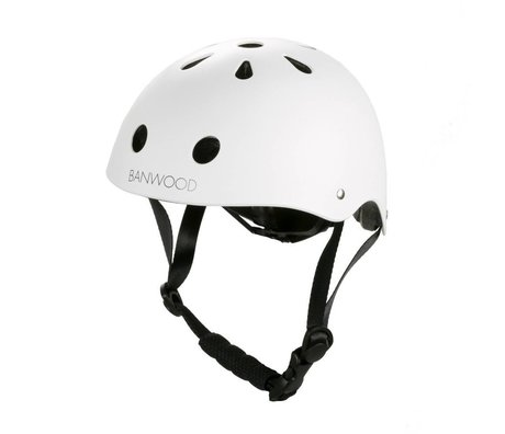 Banwood Bicycle helmet child white 24x21x17,5cm