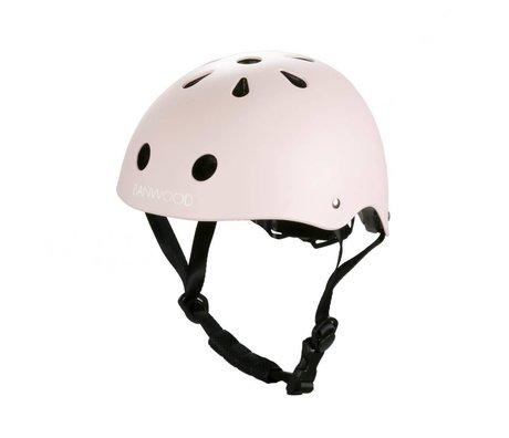 Banwood Casco bicicleta niño rosa 24x21x17,5cm