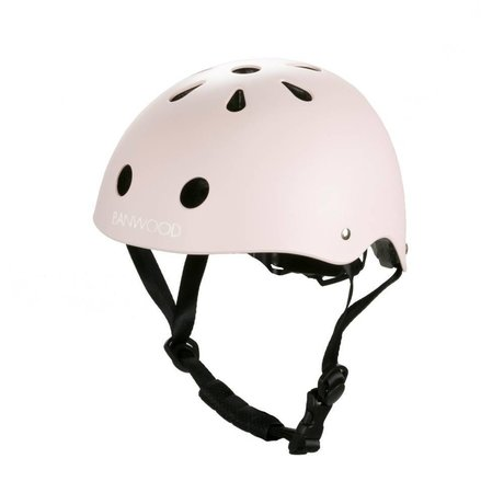 Banwood Casco da bicicletta bambino rosa 24x21x17,5cm