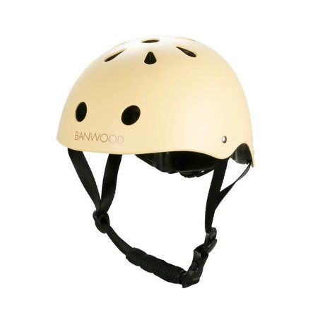 Banwood Bicycle helmet child vanilla yellow 24x21x17,5cm