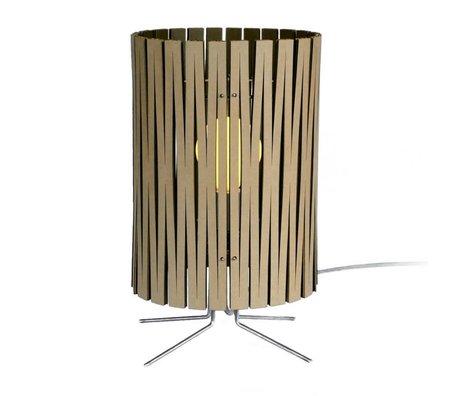 Graypants Palmer bordlampe lavet af pap, sort, Ø21x39cm