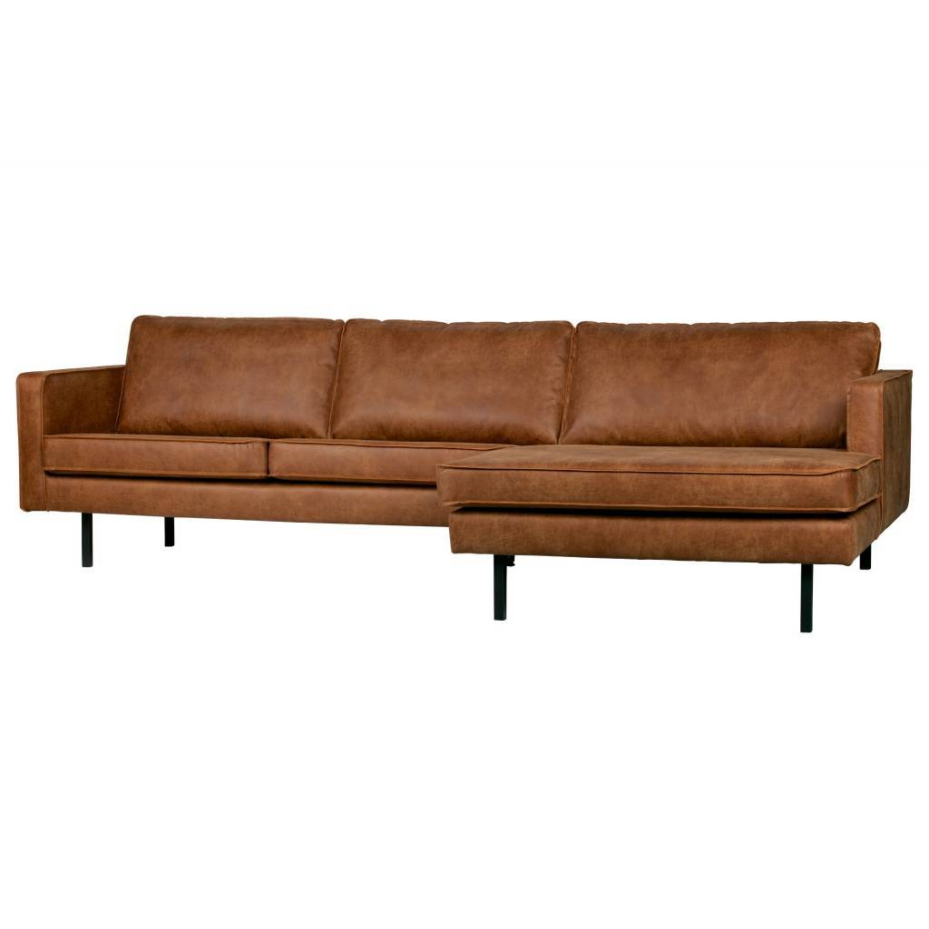 Groovy Bench Rodeo Chaiselongue Rechts Cognac Braun Leder 85X300X86 155Cm Dailytribune Chair Design For Home Dailytribuneorg