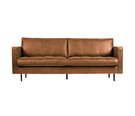 BePureHome Rodeo sofa classique 2,5 places cognac