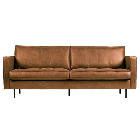 BePureHome Rodeo classic sofa 2,5-seater cognac