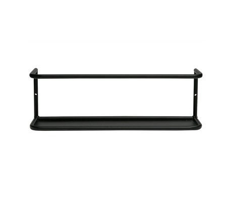 LEF collections Myrthe wall shelf metal l 40cm