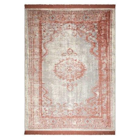 Zuiver Teppich Marvel Blush rotes Textil 170x240cm