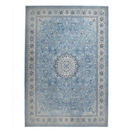 Zuiver Teppich Milkmaid blau Textil 170x240cm