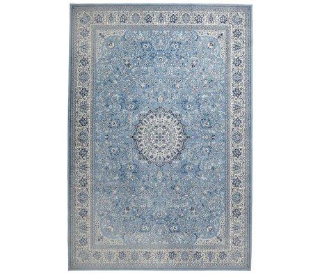 Zuiver Carpet Milkmaid blue textile 200x300cm