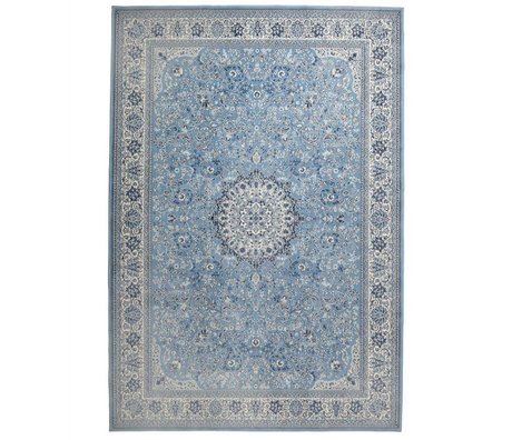Zuiver Teppich Milkmaid blau Textil 200x300cm