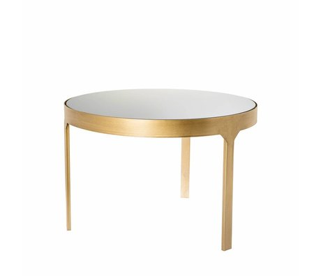 Riverdale Table d'appoint Amaro doré 60x60x40,4cm