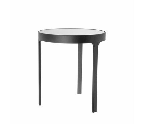 Riverdale Side table Amaro black 45x45x50,5cm