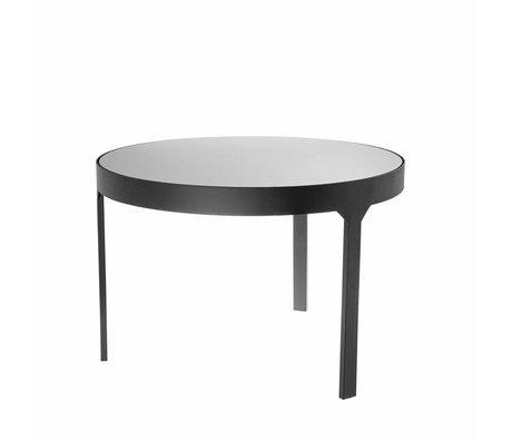 Riverdale Table d'appoint Amaro noir 60x60x40,4cm