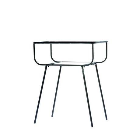 Riverdale Side table Amaro black 33x48,5x61cm