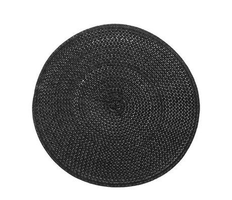 Riverdale Mantel trenzado negro Ø38cm