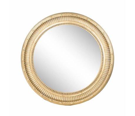 Riverdale Mirror Eleanor gold Ø95cm
