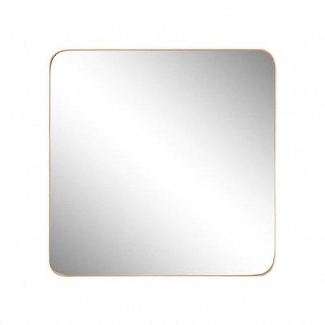 Riverdale Miroir Amaro doré 60x3,5xH60cm