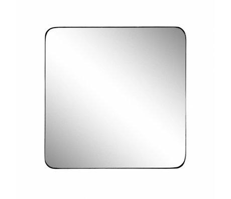 Riverdale Miroir Amaro noir 60x3,5xh60cm