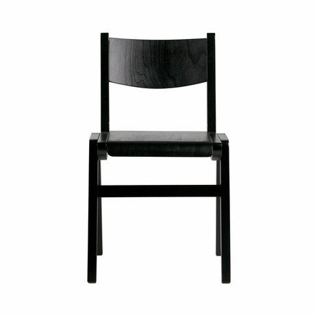 BePureHome Academy school chair wood black