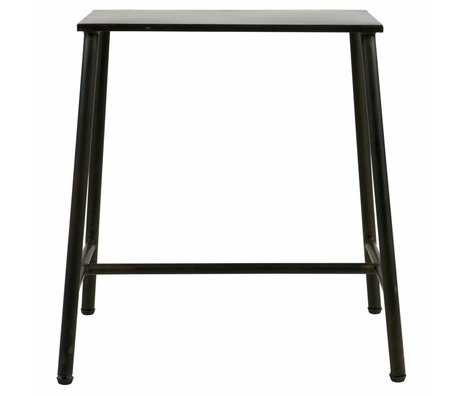 BePureHome Blast hocker metall schwarz