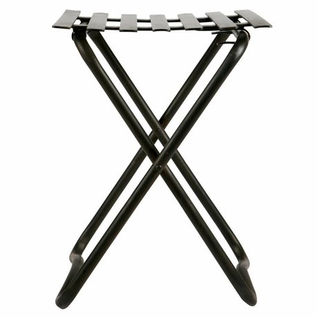 BePureHome Brave hocker metall schwarz