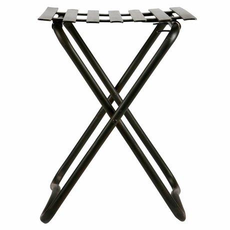 BePureHome Brave stool metal black