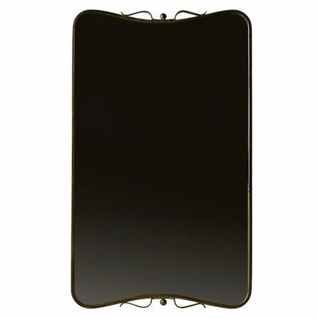 BePureHome Double miroir métal laiton laiton