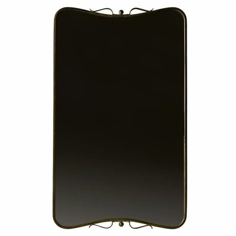 BePureHome Double mirror metal brass brass