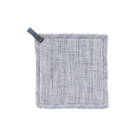 Housedoctor Potholders Polly dark blue cotton 21x21cm
