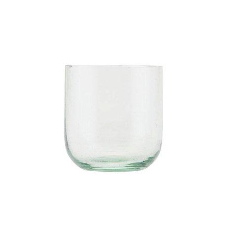 Housedoctor Glas-glasagtigt glas gennemsigtigt glas Ø7,5x8cm