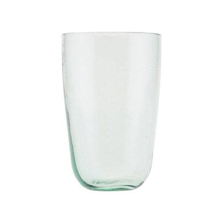 Housedoctor Glas-glasagtigt glas gennemsigtigt glas Ø8,5x13cm