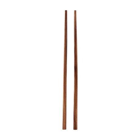 Housedoctor Bacchette Akacie marrone legno 22,5 cm
